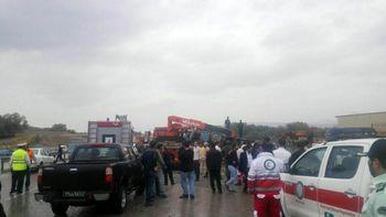 جزئیات واژگونی اتوبوس راهیان نور در جاده تبریز