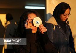 تصاویری از خورشیدگرفتگی درمشهد، اصفهان و جزیره هرمز