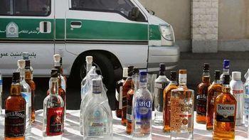 نابودی باند تولید کننده مشروبات الکلی در مشهد