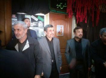 چه کسانی به مراسم ترحیم برادر رئیس جمهوری سابق رفتند؟ + عکس