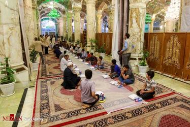 افطاری در حرم حضرت زهرا(س) 10