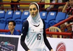 همسر کاوه رضایی در تیم والیبال شارلوا بلژیک +عکس