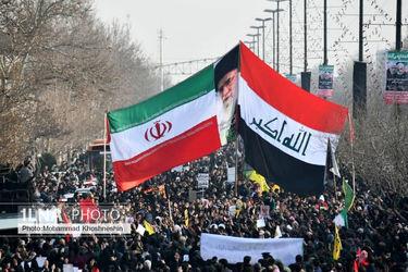 تصاویر تشییع پیکر شهید قاسم سلیمانی در مشهد