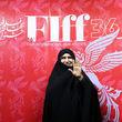 حضور دختر امام (ره) در جشنواره فیلم فجر+عکس