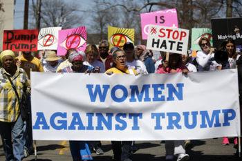 زنان بلای جان ترامپ میشوند؟/شکاف میان رأی زنان و مردان آمریکایی