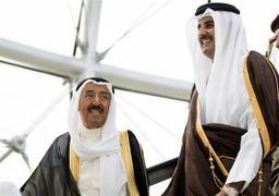 مفاد نامه امیر قطر به امیر کویت فاش شد