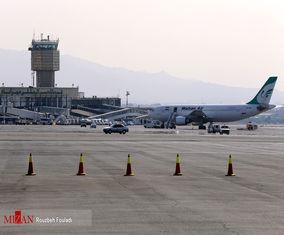 تصاویر افتتاح ۱۰ پروژه فرودگاهی فرودگاه مهرآباد