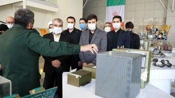 بازدید کدخدایی و طحاننظیف از دستاوردهای جدید نیروی هوافضای سپاه