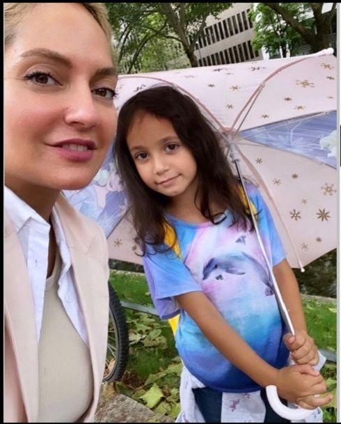 عکس مهناز افشار و دخترش لیا