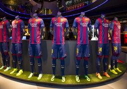 پیراهن بارسلونا برای فصل بعد +عکس