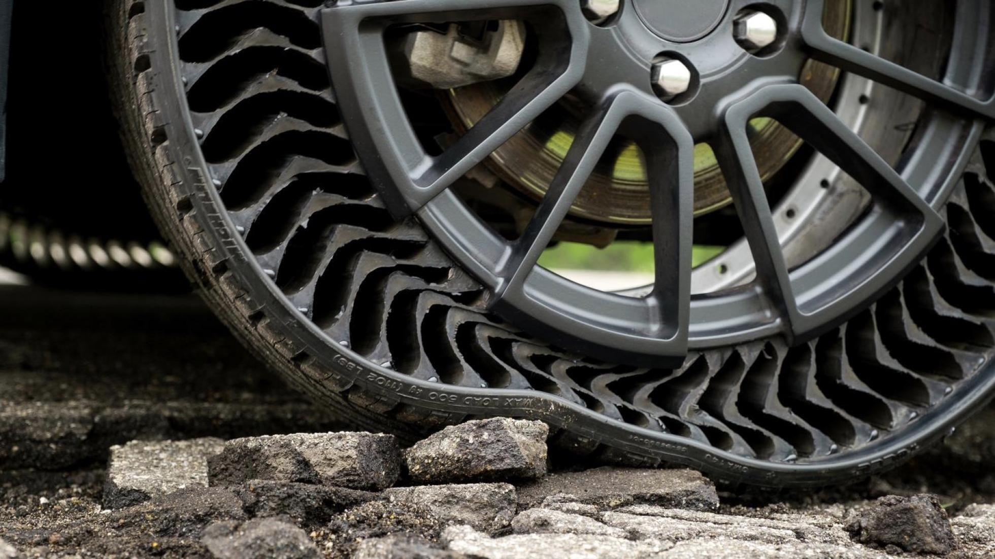 تایرهای بدون هوا/ پنچر نمیشوند و عمر طولانی دارند