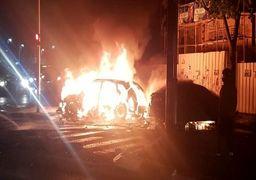 انفجار خودرو در تلآویو