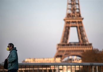 افزایش 4 بر ابری نرخ تورم فرانسه