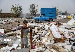 گزارش تصویری گاراژ تفکیک زباله اشرفآباد