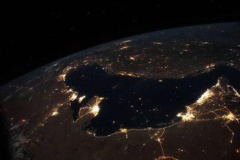 عکس خیره کننده خلیج فارس