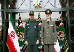 تحویل وزارت دفاع به سرتیپ امیر حاتمی + عکس