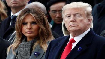 نگاه دردسر ساز ترامپ؛ دونالد به ملانیا هم اعتماد ندارد!