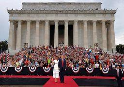 ترامپ در سخنرانی روز استقلال آمریکا چه گفت؟ +تصاویر