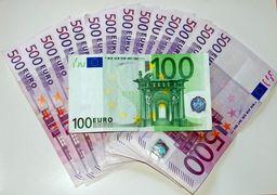 قیمت یورو امروز سهشنبه ۱۳۹۸/۱۱/۲۹ | پیش روی یورو به سمت مرز 16 هزار تومانی