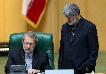 فراکسیون «مخفی» آقای رئیس / تاکتیک لاریجانی برای نگه داشتن مطهری در هیات رئیسه