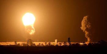 شنیده شدن صدای انفجار در تل آویو