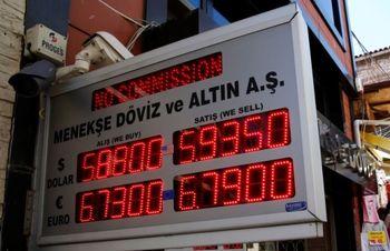 نرخ ارز و طلا در بازار ترکیه
