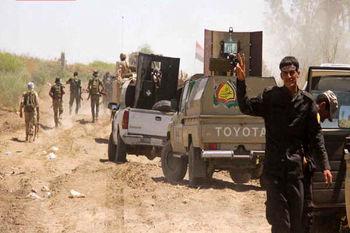 انتقال تجهیزات نظامی حشد شعبی به مرز سوریه