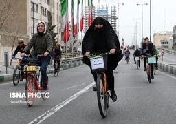 همایش بزرگ دوچرخهسواری در تهران