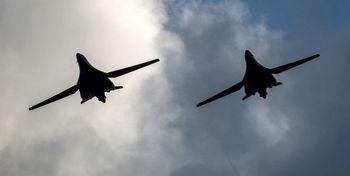 پرواز بمب افکنها و هواپیماهای آمریکا، چین و ژاپن نزدیک تایوان
