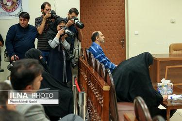 تصاویر نخستین جلسه رسیدگی به پرونده «شبنم نعمتزاده»
