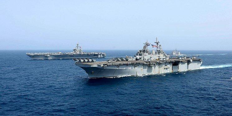سه کشتی جنگی آمریکایی آبهای منطقه را ترک کردند