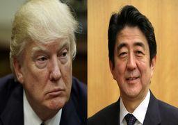 گفتگوی تلفنی شینزو آبه با ترامپ در آستانه سفر به ایران