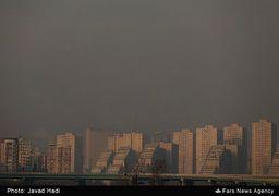 شاخص کیفیت هوای کلانشهرها و مراکز استان کشور