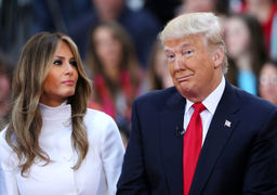 ماجرای بوسیدن دست ملانیاترامپ توسط ملکسلمان و دروغ ترامپ