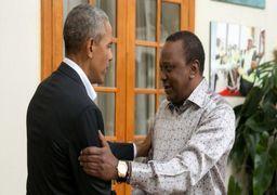 اوباما برای دیدار با اقوامش به کنیا رفت