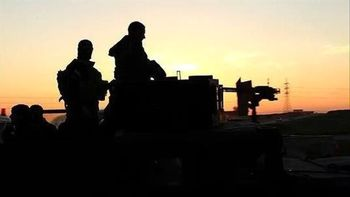 سرکوب حمله داعش در عراق