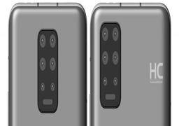 ثبت طراحی جدید برای گوشیهای هوآوی؛ دوربین هشتتایی و بدنه یکپارچه