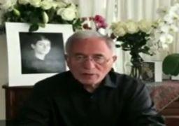 پیام ویدئویی پدر و همسر مریم میرزاخانی