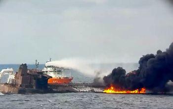 تکاوران نیروی دریایی ارتش ایران آماده ورود به نفتکش سانچی