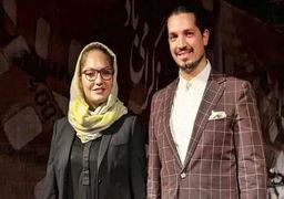 مهناز افشار از همسرش جدا شد + عکس