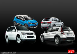 نبرد خودرو های شاسی بلند کره در بازار ایران