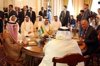 بیانیه مشترک چهار کشور عرب علیه ایران و ترکیه