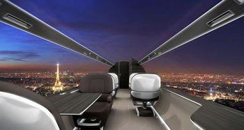 هواپیمایی با صفحه نمایش ۳۶۰ درجه داخل کابین