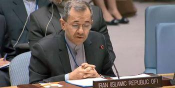توئیت تختروانچی در واکنش به قطعنامه ضد ایرانی آمریکا برای تحریم تسلیحاتی