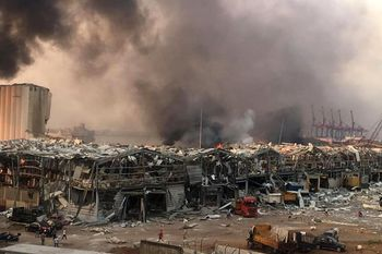 آمار کشته های انفجار در بیروت اعلام شد