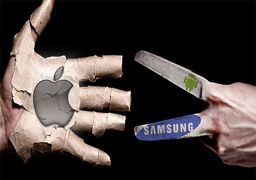 سبقت اپل از سامسونگ در ساخت گوشی های هوشمند