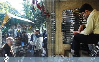 ریزش اندک دلار در بازار تهران