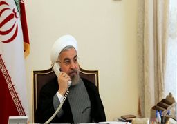 تماس تلفنی مهم روسای جمهوری ایران وفرانسه؛ روحانی:بی ثباتی دراین منطقه می تواند برای کل جهان خطرناک باشد/ درک میکنم در چه شرایط تلخ و غم انگیزی با شما گفتگو می کنم