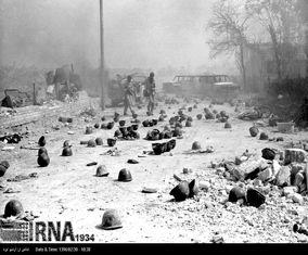 تصاویر مربوط به خرمشهر پس از آزادی