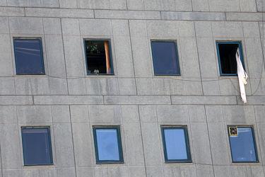 تصاویر حادثه تروریستی در مجلس
